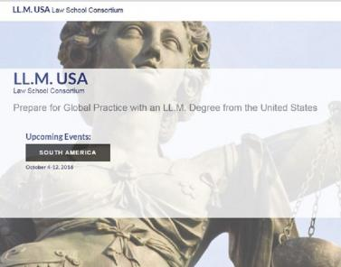 LL.M. USA Law School Consortium October Tour in South America