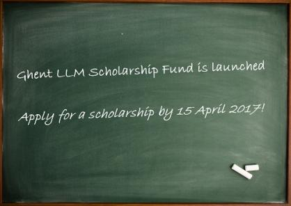 Ghent LLM Scholarship Fund is Launched – Apply Now