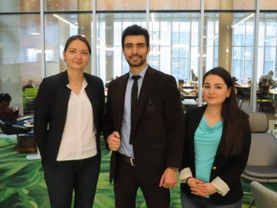 Syracuse Law Welcomes Fulbright Students from Eurasia