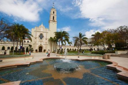 "University of San Diego recently received the first ""Most Beautiful Campus"" place from the Princeton Review rankings"
