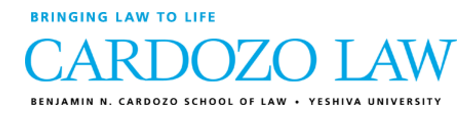 Benjamin N. Cardozo School of Law - Yeshiva University (New York City)